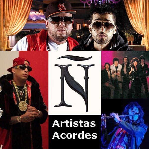 Artistas con Ñ (Lista) Canciones con letras y acordes de guitarra y piano
