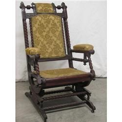 Victorian Glider Rocker ca. Late 19th C. Omg this is the one i waaant!