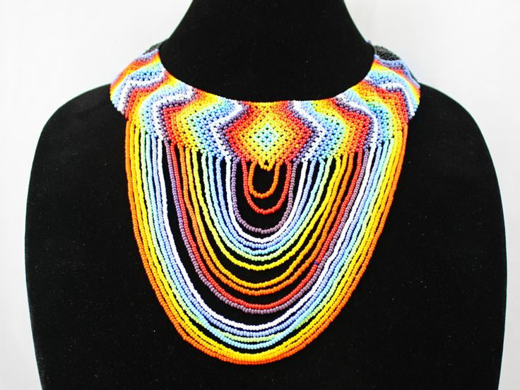 Traditional Rainbow necklace