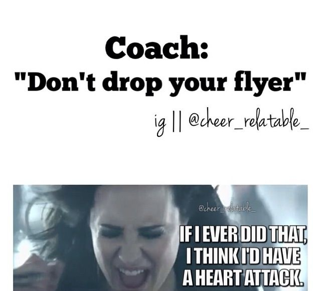 at tryouts this was the song we danced to that's why I think its funny..