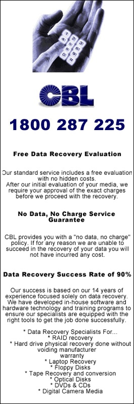 02 9437 5755 St Leonards NSW Data Recovery Sydney