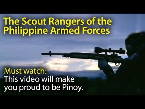 This video will make you proud to be Pinoy. The Scout Ranger Elite Philippine Army ~SHARE - WATCH VIDEO HERE -> http://dutertenewstoday.com/this-video-will-make-you-proud-to-be-pinoy-the-scout-ranger-elite-philippine-army-share-2/   I created this video with the YouTube Video Editor ( News video courtesy of The Storyteller YouTube channel  Disclaimer: The views and opinions expressed in this video are those of the YouTube Channel owners and do not necessarily reflect the opi