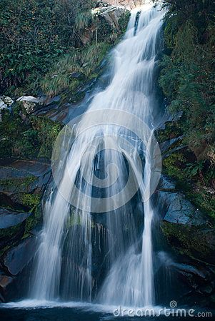 La Cumbrecita Waterfall - Download From Over 26 Million High Quality Stock Photos, Images, Vectors. Sign up for FREE today. Image: 44739082