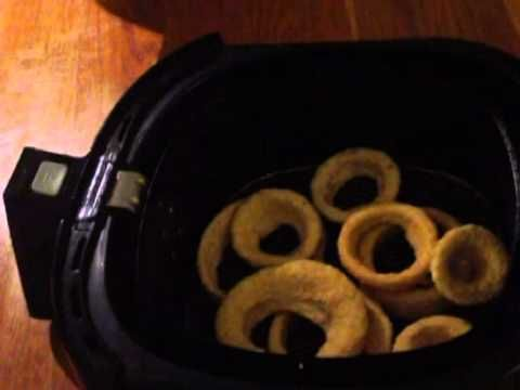 Airfryed Onion Rings