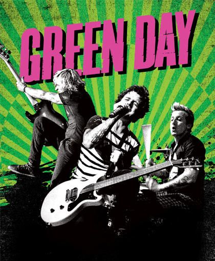 Green Day 420x509