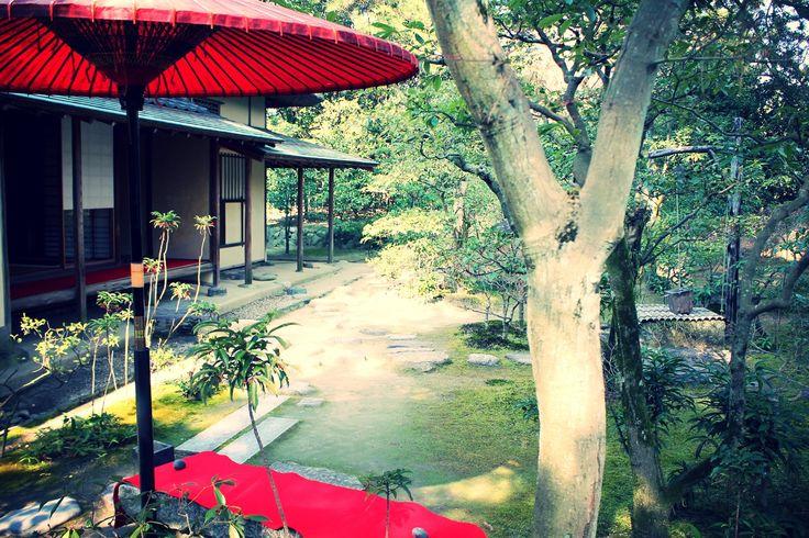 お茶室@栗林公園©摂理のア・ラ・カルト