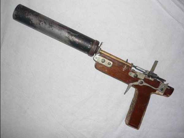 suppressed homemade handgun - Cool Homemade Stuff