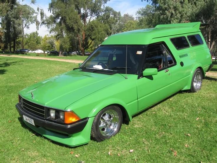 1980 XD Falcon Panel Van
