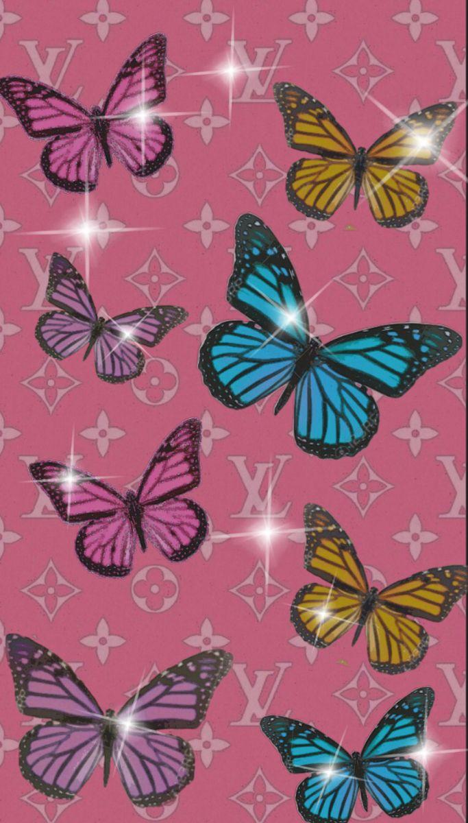 🖤 Pink Aesthetic Louis Vuitton - 2021