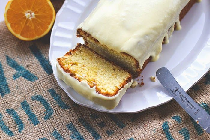 Rezept für saftigen Orangenkuchen mit Orangenglasur