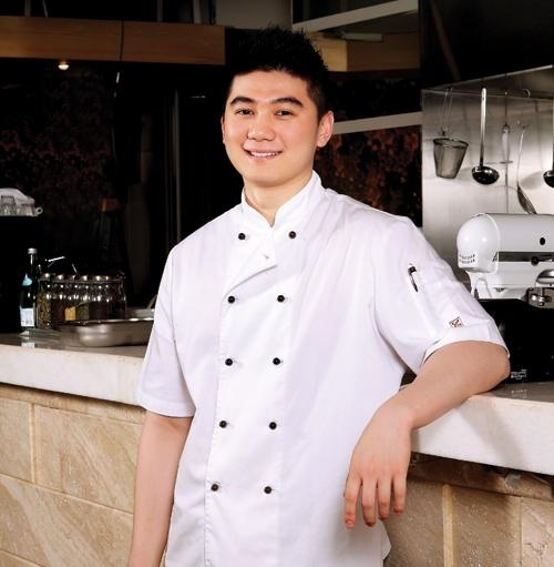"Chef Arnold Poernomo, 23, General Manager of ""The Nest Grill"""
