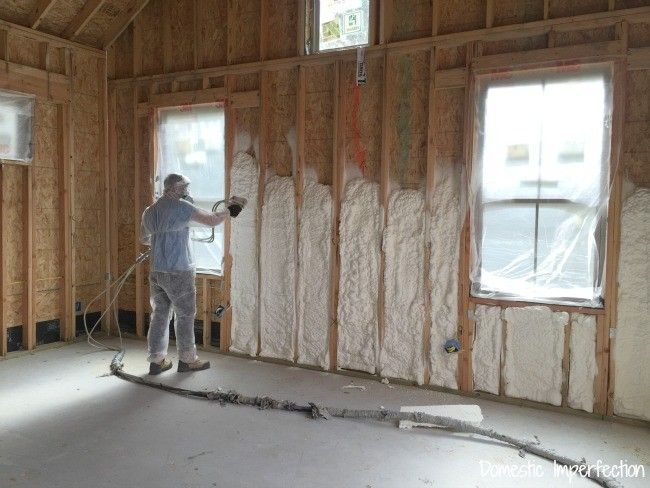 34 best air barrier spray foam system images on pinterest spray spray foam insulation solutioingenieria Choice Image