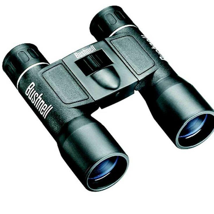 Bushnell - 12x32 Powerview Binoculars Roof Prism Black - #binoculars