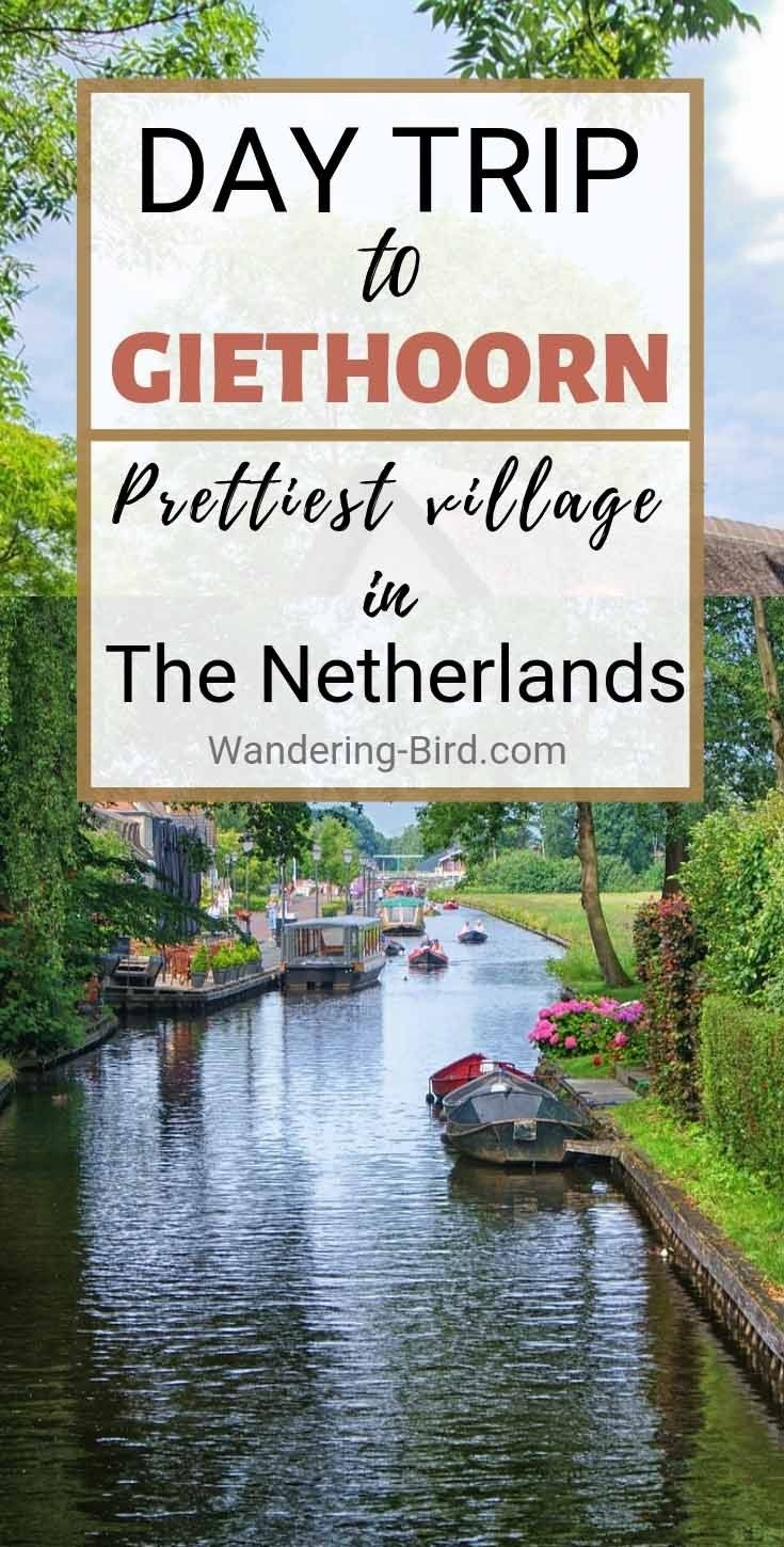 How to get to Giethoorn- The Netherlands village with no roads!