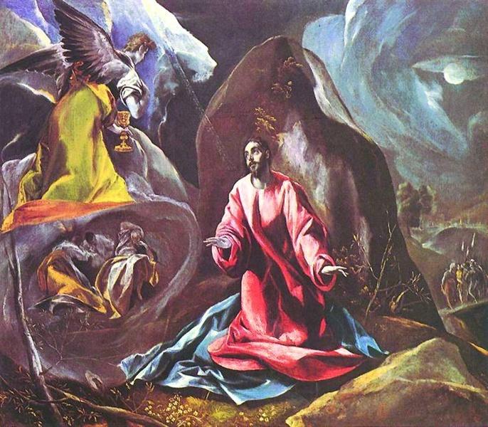 2005.07 // El Greco (Domenikos Theotokopulos), Modlitwa w Ogrójcu, olej na płótnie, ok. 1588, Museo del Arte, Toledo