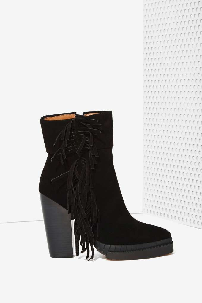 Jeffrey Campbell Bandcero Suede Bootie | Shop What's New at Nasty Gal