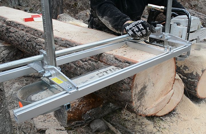 The Granberg is way more sturdy and reliable than our DIY mill.