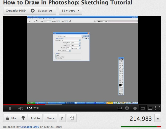 how to digital draw in pjoyoshop