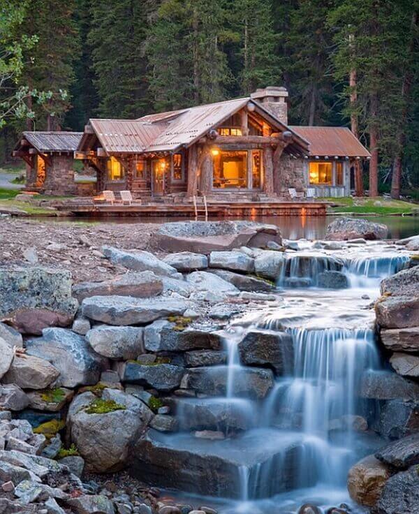 26 Unusual Custom Pools Cozy House Cabin Homes Log Home Decorating