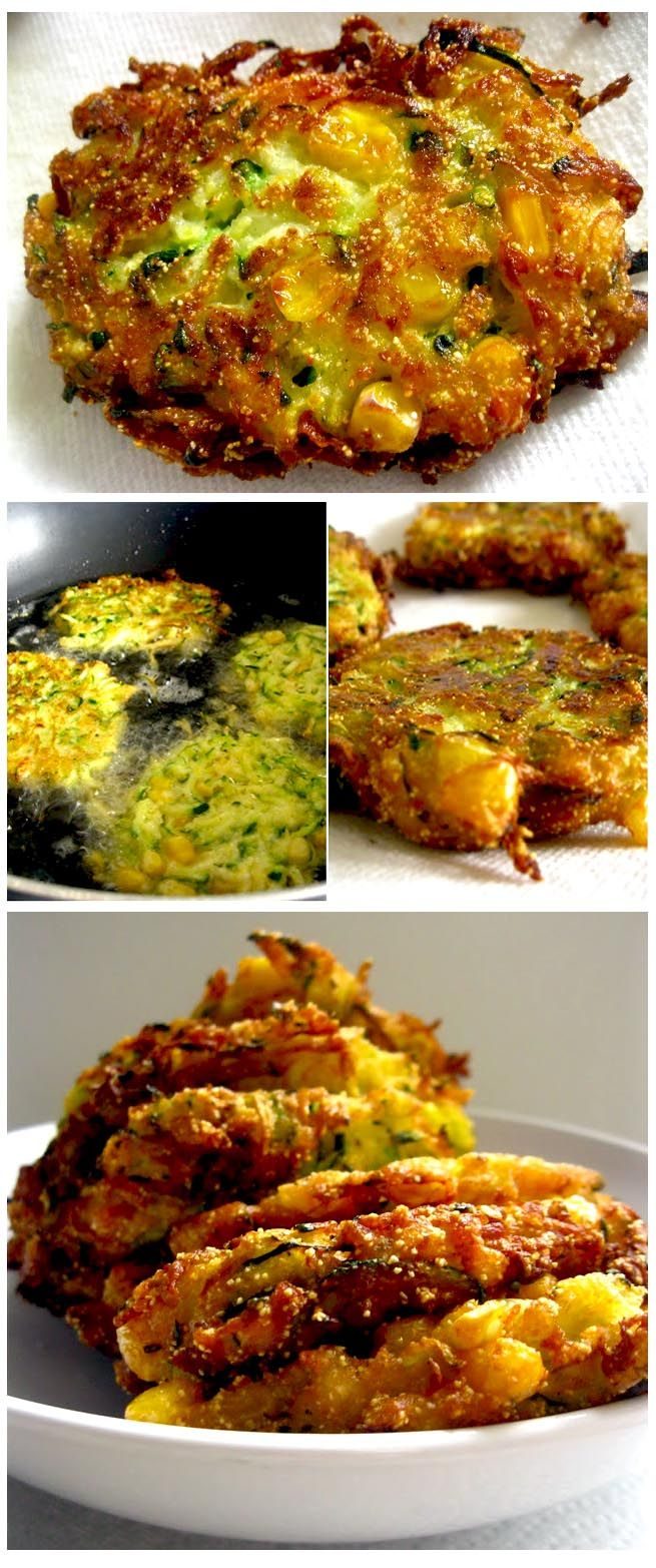 Cutlets with zucchini and corn @Andreea Mav