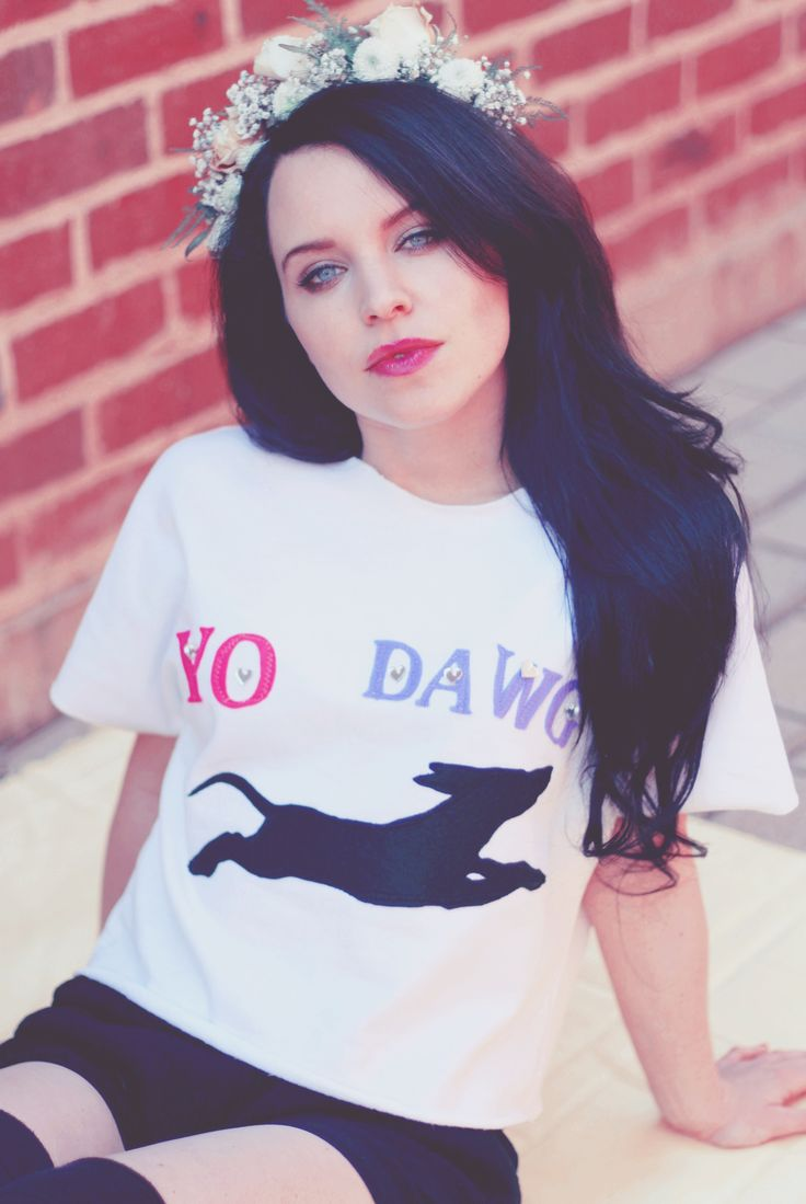 Yo Dawg t-shirt crop top from Call A Cab & Take It Slow. Liesl Ahlers.