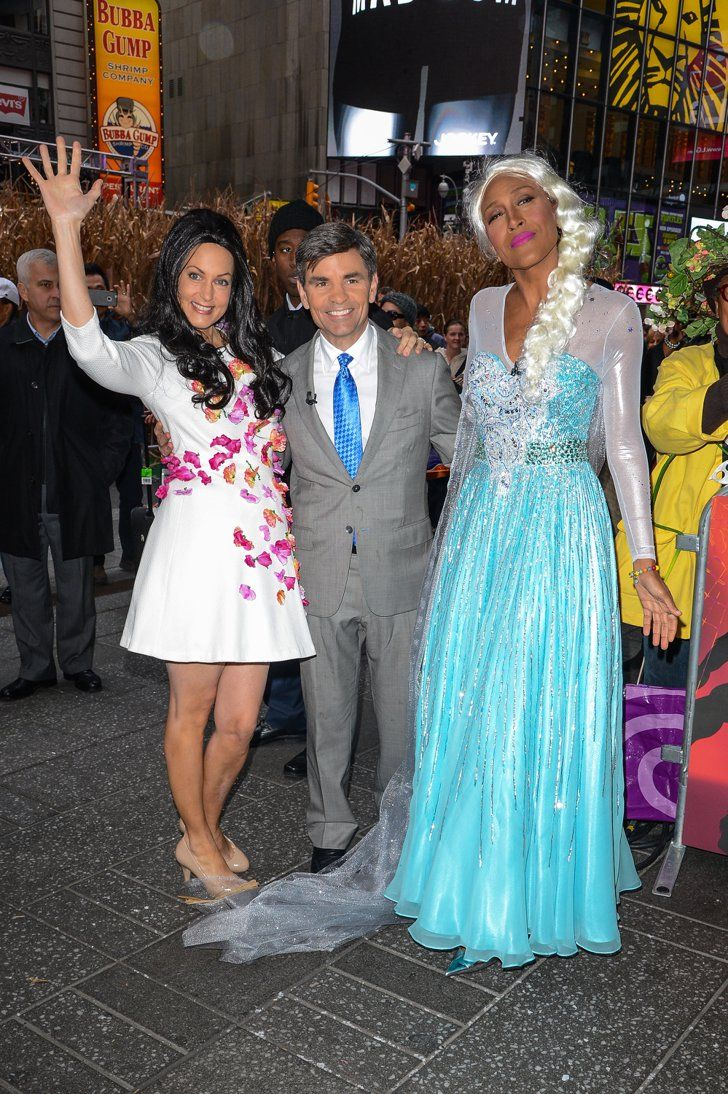 Pin for Later: Amal Alamuddin Is Officially This Year's Miley Cyrus Costume Alexandra Wentworth as Amal Alamuddin (With Bonus George Stephanopoulos as George Clooney)