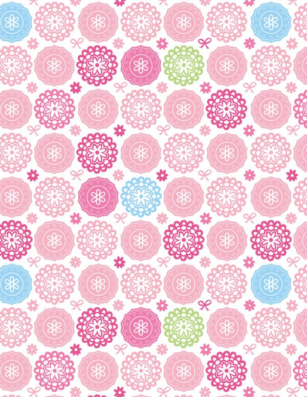 7 A FONDO Pattern Designs by Claire Edwards, via Behance