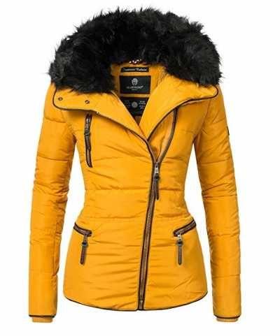 Mari koo Chaqueta Acolchada De Invierno Para Mujer  Extraíble Cuello De Piel Sintética  Caracteristicas Del Producto: Diseño: invierno chaqueta acolcha