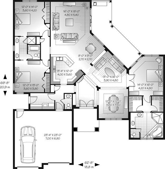 Mediterranean Mansion Floor Plans Design 77447630607: 17 Best Ideas About Mediterranean House Plans On Pinterest