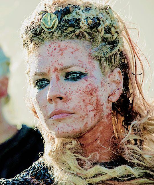 """Lagertha (Katheryn Winnick) in Vikings Season 5 [x] "" - via Drogons"