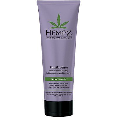 Hempz Vanilla Plum Herbal Moisturizing & Strengthening Shampoo 9.0 oz