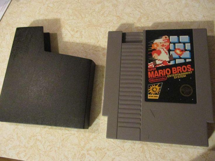 Super Mario Bros. NES Game Nintendo Entertainment System Cartridge & Dust Sleeve
