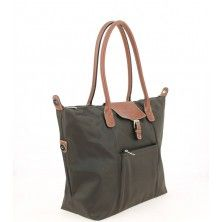 Shopping Bag by HEXAGONA in Chocolate BrownFACE