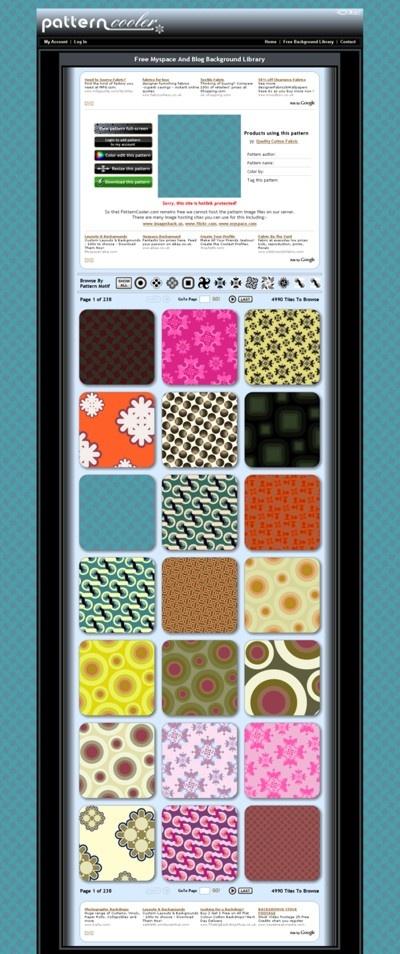 PatternCooler.com ScreenShot