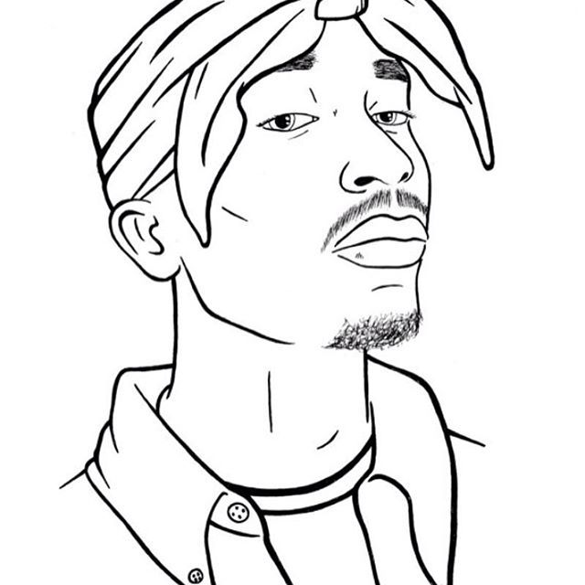 TUPAC  #tupac #art #drawing
