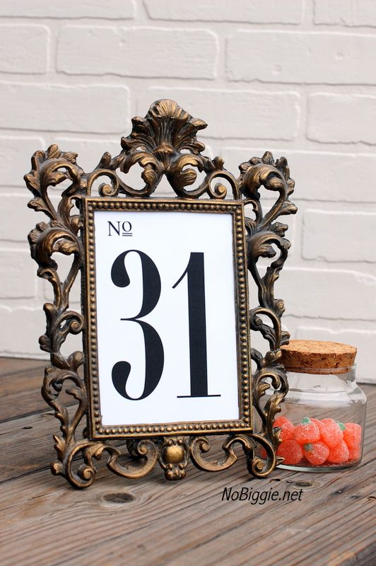 bridal engagement ring sets free printable table numbers for holidays and weddings    via NoBiggie net