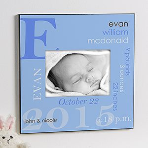 135 best oh baby baby gifts more images on pinterest baby all about baby personalized 5x7 wall frame for boys negle Choice Image