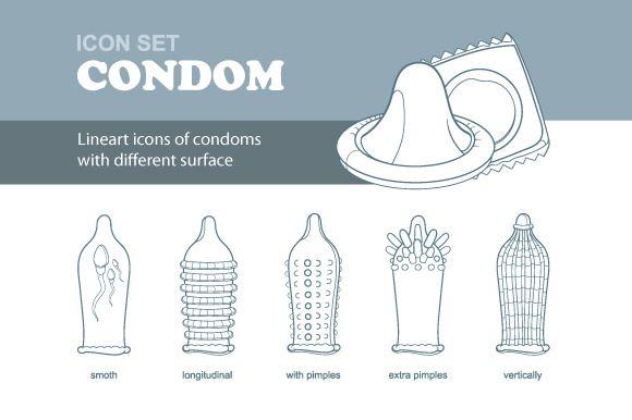 condoms by Multigon on @creativemarket