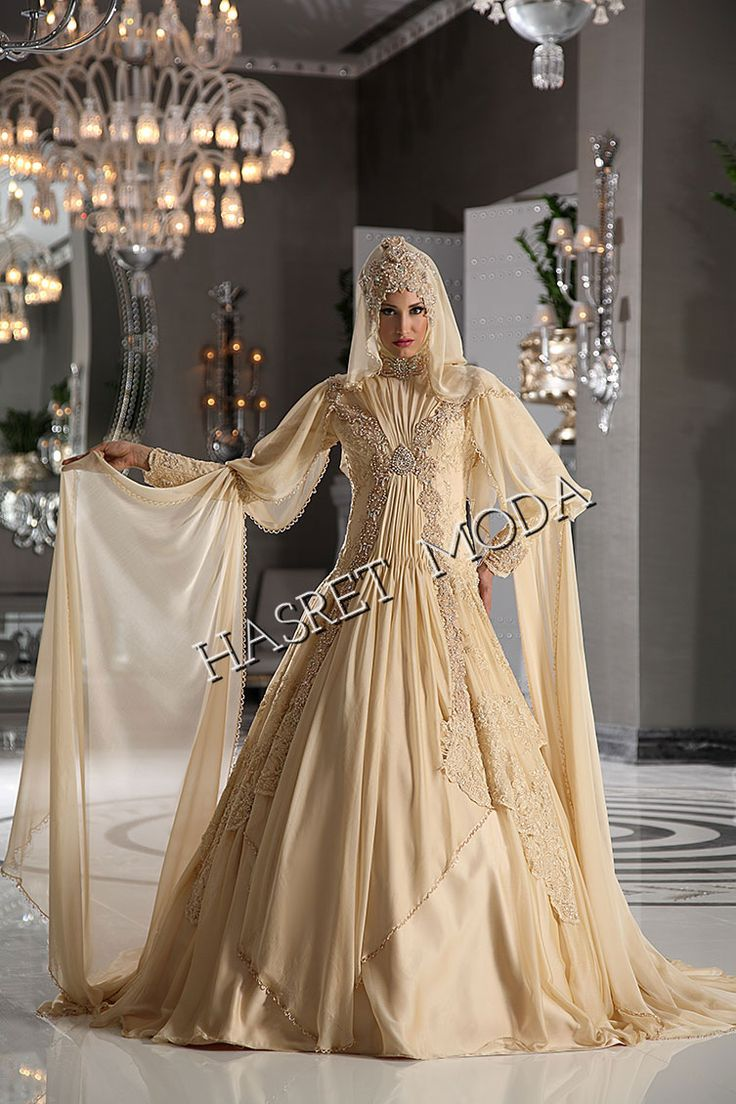 619 best images about muslimah wedding gown on pinterest for Wedding dresses for muslim brides