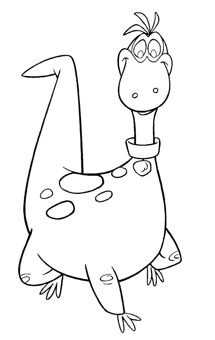 Flintstones Characters Coloring Pages | pin the flintstones coloring pages on pinterest categories flintstone ...
