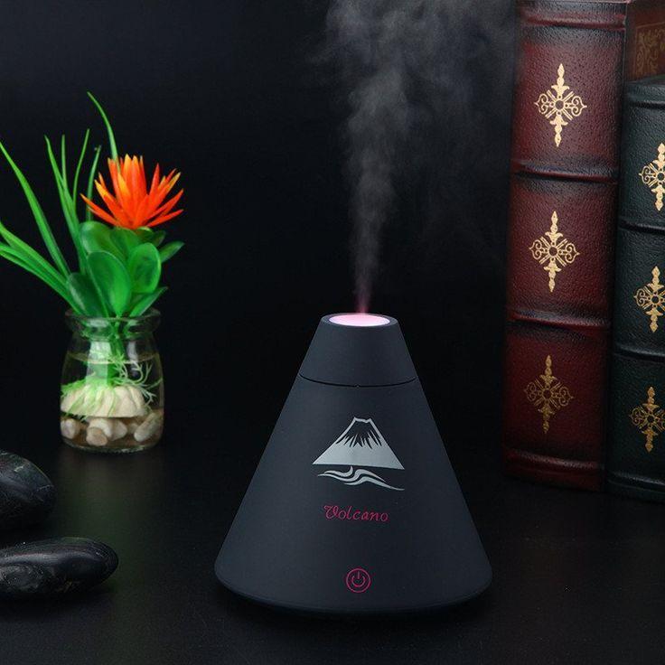 Desktop USB Mini Humidifier Volcano Ultrasonic