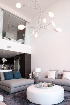 Living - contemporary - living room - miami - Escala Construction Inc.
