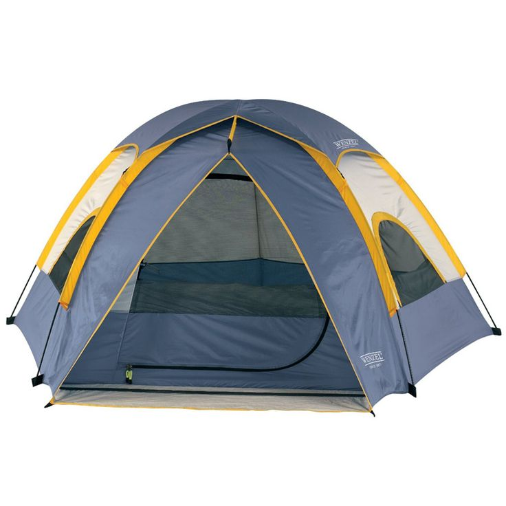 Wenzel Alpine 8.5 X 8-Feet Dome Tent (Light Grey/Blue/Gold)