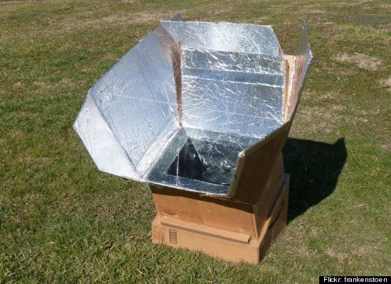 Making a solar cooker, great way to teach about renewable energy. Forever Green Girl Scouts:)                                                                                                                                                                                 More