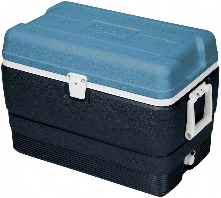 Igloo Maxcold 50 Quart Cooler Gray Cooler Box Cooler Igloo Cooler