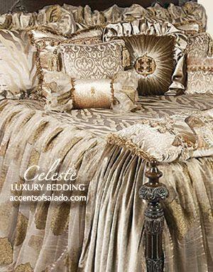Luxury Bedding High-End Luxury Old World Bedding Sets #LuxuryBeddingIdeas