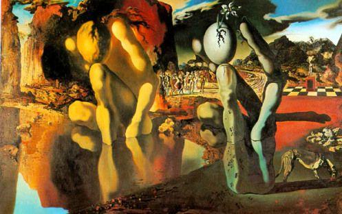 Salvador Dali - La Métamorphose de Narcisse (1937)