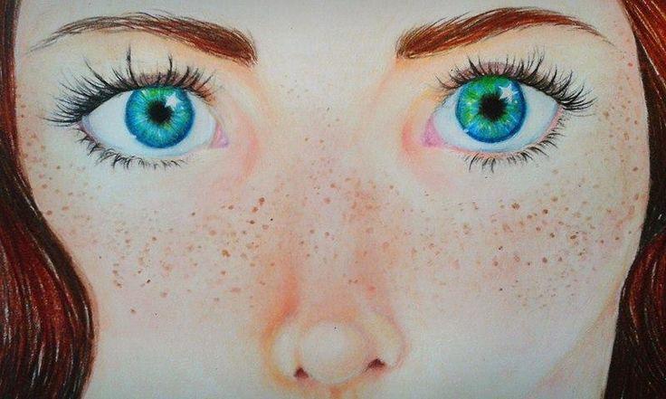 My first eye draw ^^