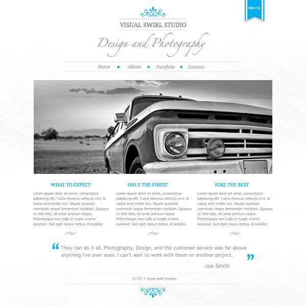 Create a Clean, Minimal Website Design in Photoshop