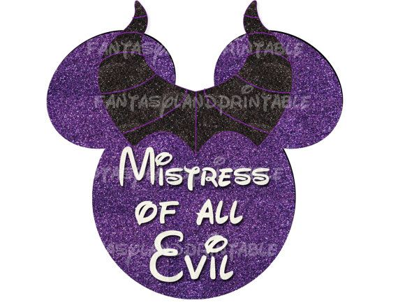 Disney Villains Maleficent Costume DIY Printable Image Marathon Mistress of Evil Tower of Terror Ride Mountain Running Training  Haunts @nanzlin